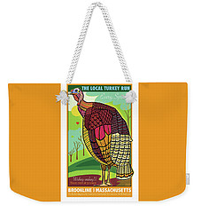 The Local Turkey Run Weekender Tote Bag