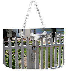 Weekender Tote Bag featuring the photograph The Lock by Eric Liller