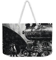 The Locomotive Weekender Tote Bag