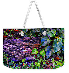 The Log In The Woods  Weekender Tote Bag