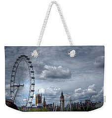 The London Eye And Skyline Weekender Tote Bag
