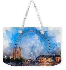The London Eye Weekender Tote Bag