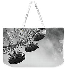 The London Eye, London, England Weekender Tote Bag by Richard Goodrich