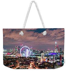 The London Skyline Weekender Tote Bag