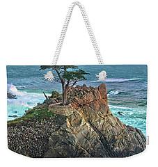 The Lone Cypress Weekender Tote Bag