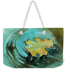 The Lone Leaf Weekender Tote Bag