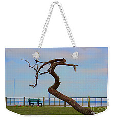 The Lone Tree Weekender Tote Bag by Roberta Byram
