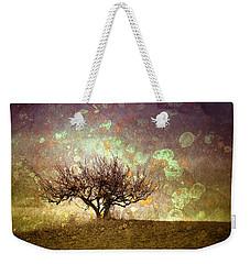 The Lone Tree Weekender Tote Bag