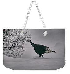 The Lone Turkey Weekender Tote Bag
