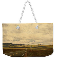 The Loneliest Road Weekender Tote Bag