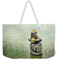 The Lonely Frog King Weekender Tote Bag