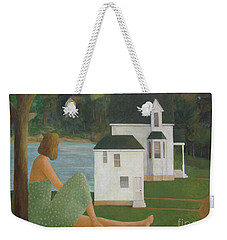 The Lonely Side Of The Lake Weekender Tote Bag by Glenn Quist