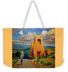The Long Road To Santa Fe Weekender Tote Bag
