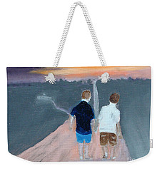 The Long Walk Home Weekender Tote Bag