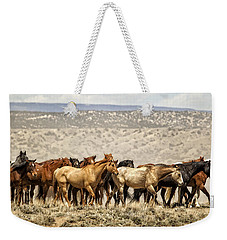The Long Walk Weekender Tote Bag by Joan Davis