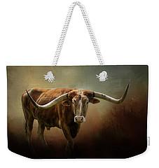 The Longhorn Weekender Tote Bag