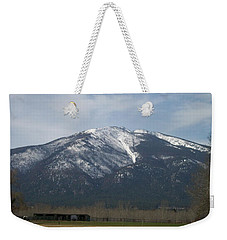The Longshed Weekender Tote Bag by Jewel Hengen