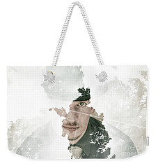 The Looking Glass Forest Man Weekender Tote Bag