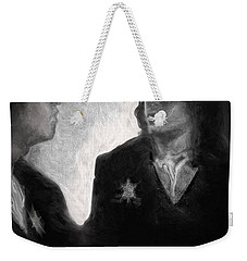 The Looking Glass Weekender Tote Bag by Michael Cleere