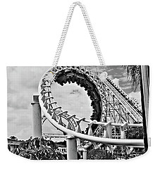 The Loop Black And White Weekender Tote Bag by Douglas Barnard