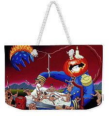 Weekender Tote Bag featuring the painting The Lost Revolution by Paxton Mobley