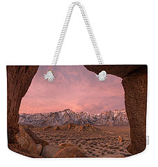 Weekender Tote Bag featuring the photograph The Lost World by Dustin LeFevre