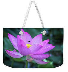The Lotus And The Bee Weekender Tote Bag