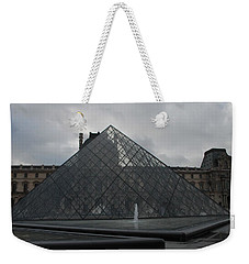 The Louvre And I.m. Pei Weekender Tote Bag