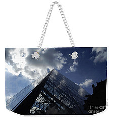 The Louvre Pyramid Paris Weekender Tote Bag