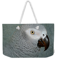 The Love Of A Gray Weekender Tote Bag by Betty LaRue