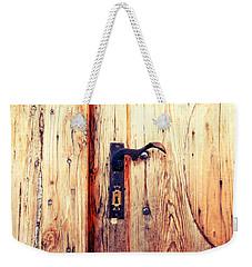 The Lovely Door Handle Weekender Tote Bag