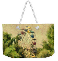The Lover's Ride Weekender Tote Bag by Trish Tritz