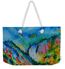 The Lower Falls Weekender Tote Bag by Warren Thompson
