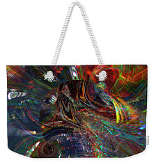 The Lucid Planet Weekender Tote Bag by Richard Thomas