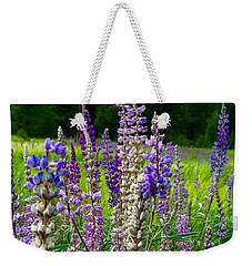 The Lupine Crowd Weekender Tote Bag