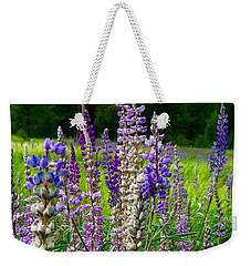 The Lupine Crowd Weekender Tote Bag