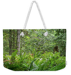 The Lush Forest Weekender Tote Bag