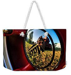 The Mack Truck Weekender Tote Bag by Linda Unger