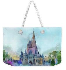 The Magic Kingdom Castle Wdw 05 Photo Art Weekender Tote Bag