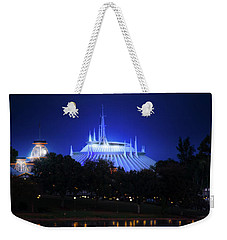 Weekender Tote Bag featuring the photograph The Magic Kingdom Entrance by Mark Andrew Thomas