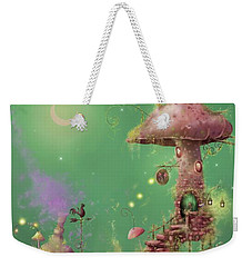 The Mushroom Gatherer Weekender Tote Bag by Joe Gilronan