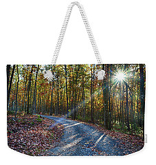 The Magic Of Autum Weekender Tote Bag