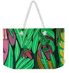 The Magic Of Banana Blossoms Weekender Tote Bag by Lorna Maza