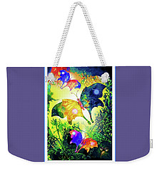 The Magic Of Butterflies Weekender Tote Bag by Hartmut Jager