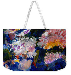 The Magic Of Flowers Weekender Tote Bag by Nancy Kane Chapman