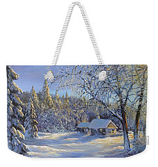 The Magic Of Winter Weekender Tote Bag