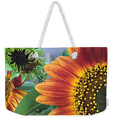 The Magic Sunflower Pollen Weekender Tote Bag by Dorothy Maier