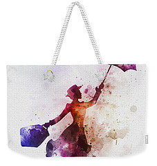 The Magical Nanny Weekender Tote Bag by Rebecca Jenkins
