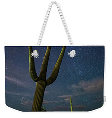 Weekender Tote Bag featuring the photograph The Magnificent by Tassanee Angiolillo