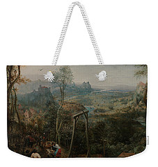 The Magpie On The Gallows Weekender Tote Bag by Pieter Bruegel the Elder